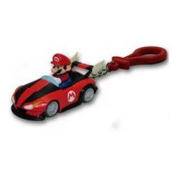 "Nintendo - porte-clés ""super mario kart wii"" : mario en voiture"