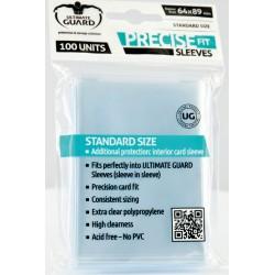 Protège-cartes transparente presice-fit standard