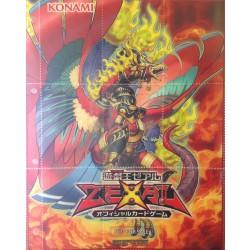 Lot de 10 feuilles Konami Yu-Gi-Oh! 9 cartes pour classeur