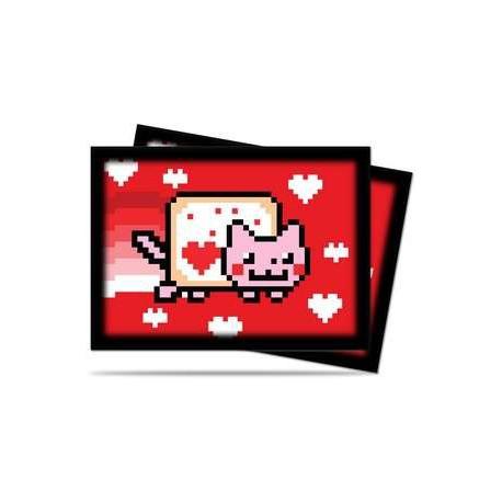 Protège-cartes illustré ultra pro standard nyan cat valentine