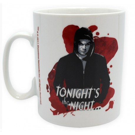 Dexter mug tonight's the night