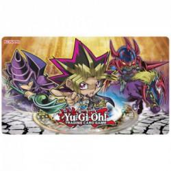 Tapis de jeu konami illustré yugioh chibi game mat yugi