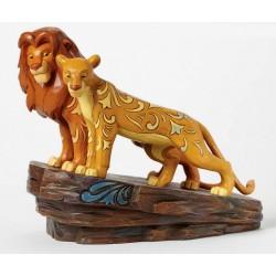 Figurine Disney Tradition Simba et Nala Le Roi Lion - Love at Pride Rock