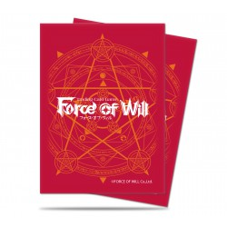 Protège-cartes illustré ultra pro standard force of will rouge