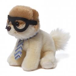 Peluche itty bitty boo nerdy avec lunettes et cravatte