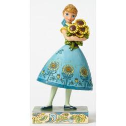 Figurine Disney Tradition Anna une Fête Givrée - Spring in Bloom Frozen Fever Anna