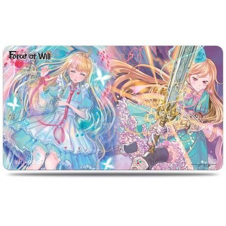 Tapis de jeu ultra pro illustré force of will - alice, fairy queen