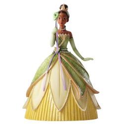 Figurine disney showcase reine tiana mascarade haute couture - tiana masquerade