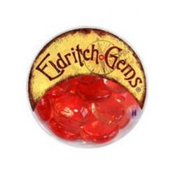Set de 12 gemmes jumbo eldritch couleur rouge