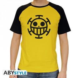 One piece t-shirt - trafalgar law jaune - taille XL