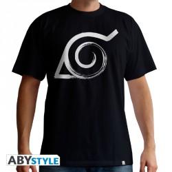 Naruto shippuden t-shirt - konoha - taille L