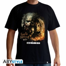 The walking dead t-shirt - god forgive us - taille L
