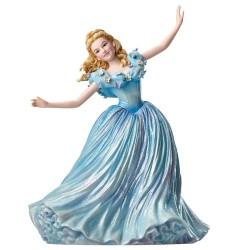 Figurine disney showcase haute couture - cendrillon en action - live action cinderella
