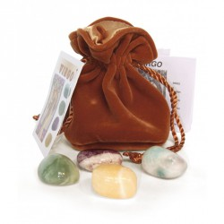 Cristal talisman astrologique vierge