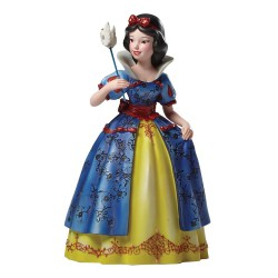 Figurine disney showcase blanche neige mascarade haute couture - snow white masquerade