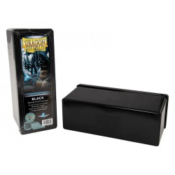 Deck box boite de rangement 4 compartiments dragon shield noir