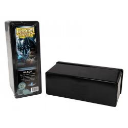 Deck box boite de rangement Dragon Shield 4 compartiments - Noir