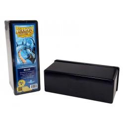 Deck box boite de rangement 4 compartiments dragon shield bleu