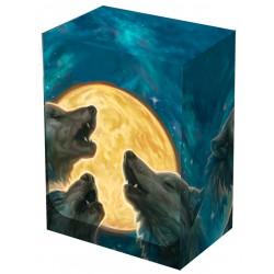 """Legion - Deck Box illustré - """"3 wolves"""" boite de rangement"""