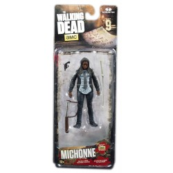 The walking dead figurine constable michonne série 9