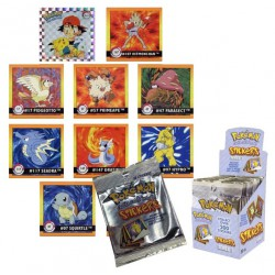 Pokemon stickers foil pack