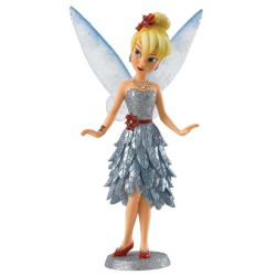 Figurine disney showcase haute couture - hiver fée clochette - winter tinker belle