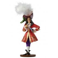 Figurine disney showcase capitaine crochet mascarade haute couture - captain hook masquerade