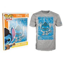 Pop tees 12 disney t-shirt - elvis stitch taille XL