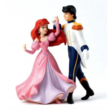 Figurine disney enchanting ariel la petite sirène et le prince éric - isn't she a vision