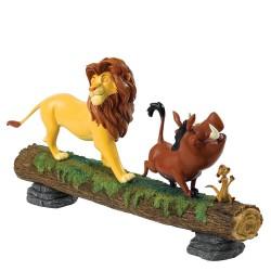 Figurine disney enchanting le roi ion - hakuna matata simba, pumbaa et timon