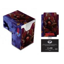 Deck box illustrée boite de rangement ultra pro dungeons & dragons - count strahd von zarovich