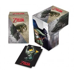 Deck box illustrée boite de rangement ultra pro the legend of zelda - twilight princess