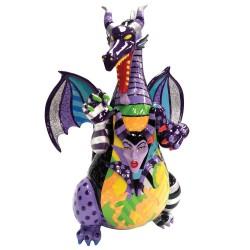 Figurine disney britto dragon maléfique de la Belle au Bois Dormant - Maleficient dragon