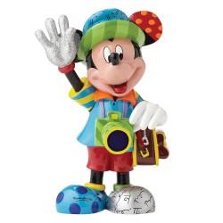 Figurine disney britto mickey mouse touriste - mickey mouse tourist