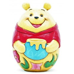 Figurine Disney Tradition Oeuf personnage - Winnie l'Ourson