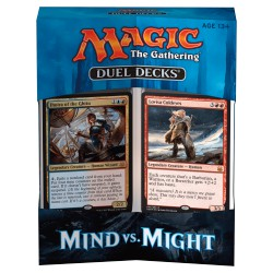 Duel Decks magic MTG : Mind VS Might