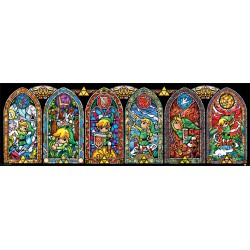 The Legend of Zelda poster bandeau Stainled Glass