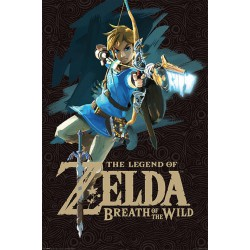 Legend of Zelda poster Breath of the Wild - Game Cover