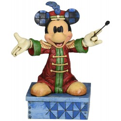 Figurine Disney Tradition Mickey Chef d'Orchestre - Mickey Mouse Band Concert