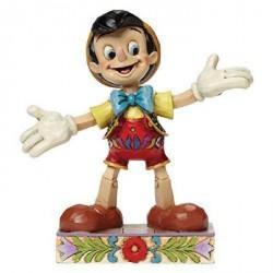 Figurine Disney Tradition Pinocchio Je suis un Affranchie - Got no Strings