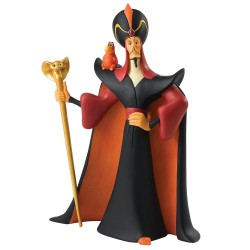Figurine Disney Enchanting Jafar et Lago dans Aladdin - O Mighty Evil One