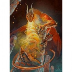 Protège-cartes illustré Wizard's Choice Picture standard - Dragon of the Lava Mountains