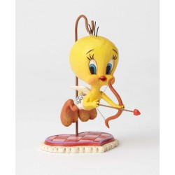 Figurine Looney Tunes by Jim Shore Titi en cupidon - Tu es la cible de mon coeur