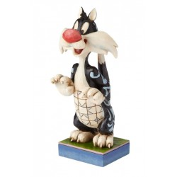 Figurine Looney Tunes by Jim Shore Grosminet - Le prédateur Puddy Tat