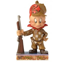 Figurine Looney Tunes by Jim Shore Elmer Fudd - Happy Hunter