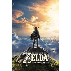 The Legend of Zelda poster Sunset