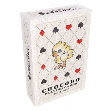 Final Fantasy TCG Chocobo - Jeu de 52 Cartes