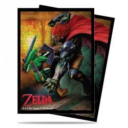 Protège-cartes illustré Ultra Pro standard Zelda Link Vs Gannon Battle - Bataille