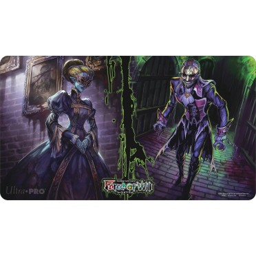 Tapis de jeu Playmat illustré Force of Will - Halloween Edition Limitée
