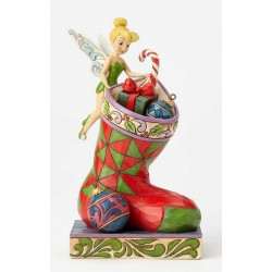 Figurine Disney Tradition Fée Clochette et la chaussette de Noël - Stocking Stuffer Tinker Belle